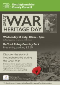 Great War - Heritage Day Poster