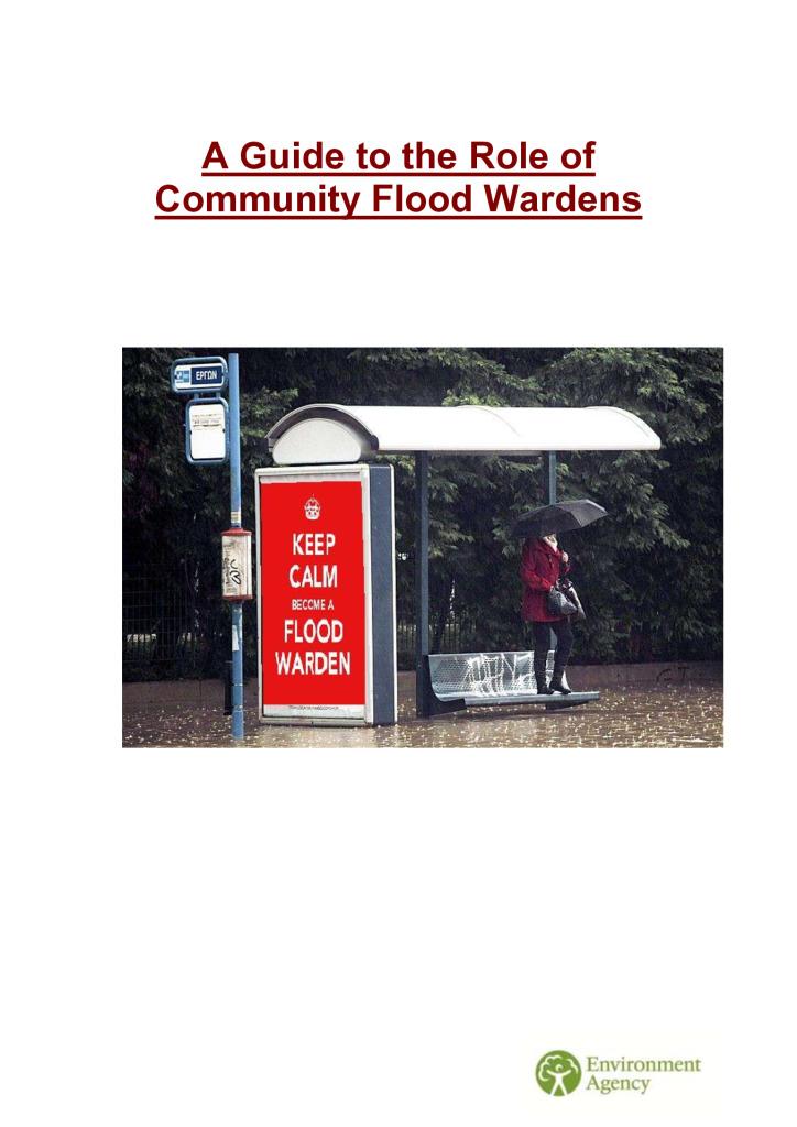 thumbnail of EnvironmentAgencyguideontheroleofcommunityfloodwardens
